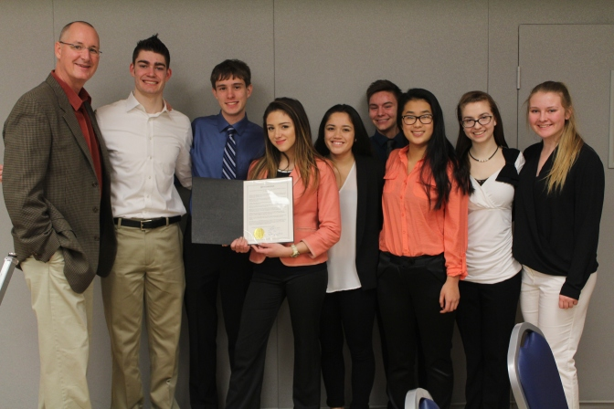 Proclamation from the City of Tualatin